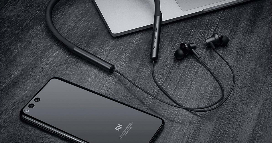 Mi Bluetooth Neckband Earphones Bluetooth наушники