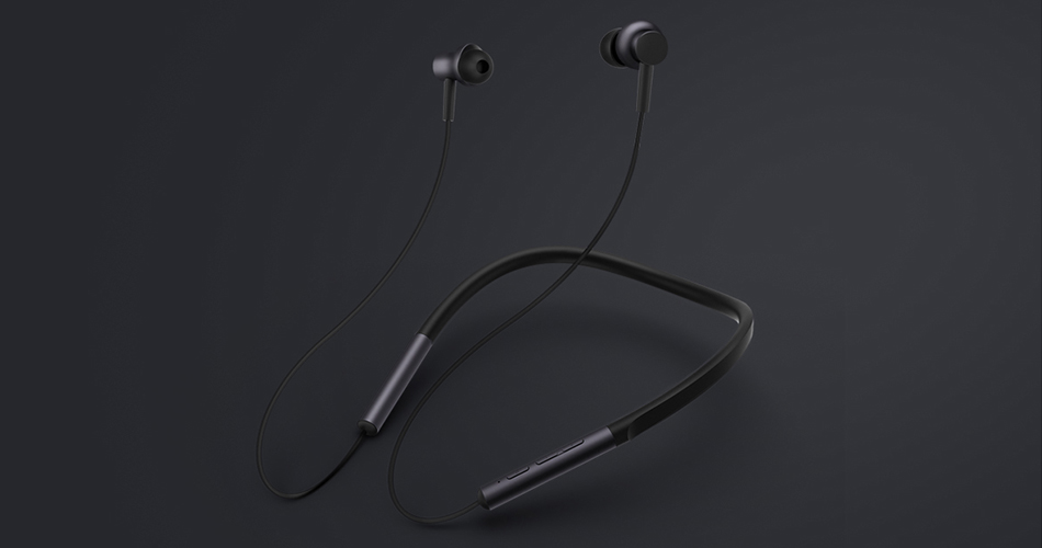 Mi Bluetooth Neckband Earphones беспроводные наушники