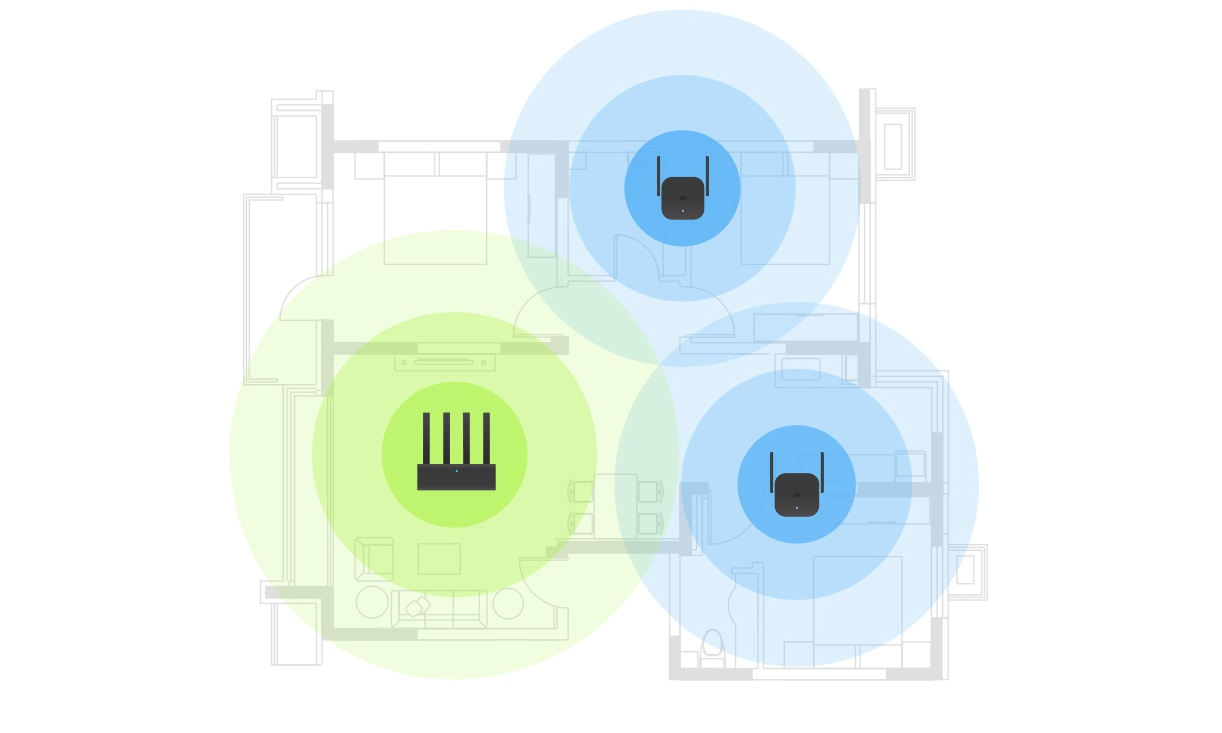 Wi-Fi Amplifier PRO  надежное Wi-Fi покрытие