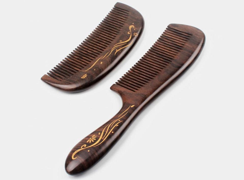 Деревянная расческа для волос XinZhi Ebony из сандала