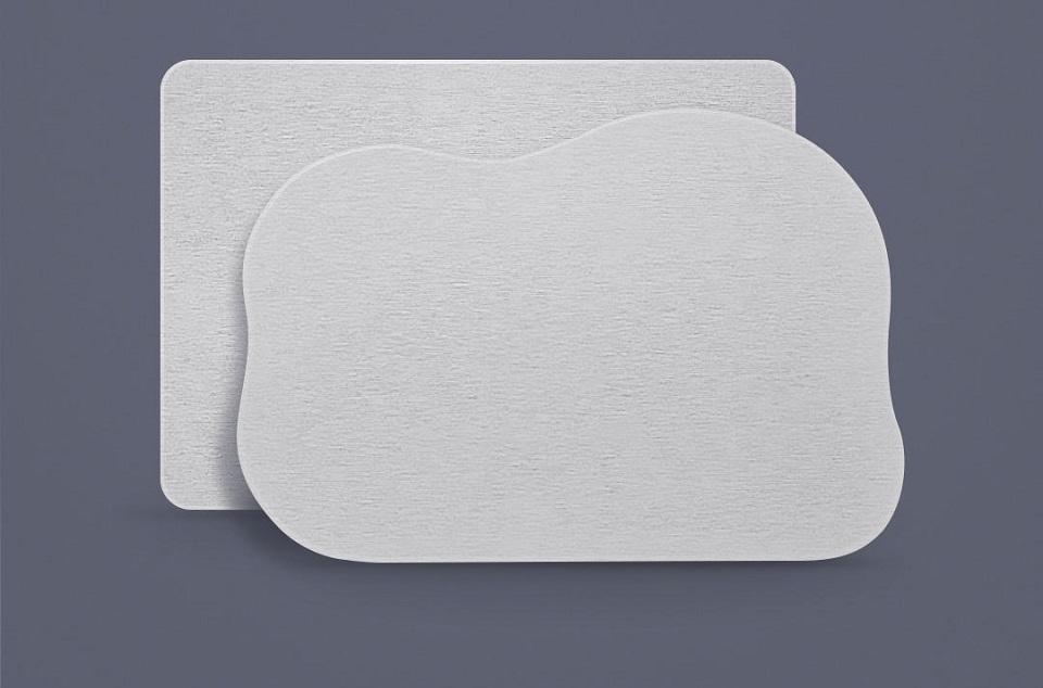 Коврик для ванной комнаты LikesMe Bathroom mat cloud-shaped в двух формах