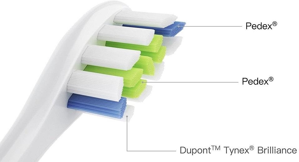 Насадка для зубной щетки Oclean P1 Soft brush head фирменные щетинки