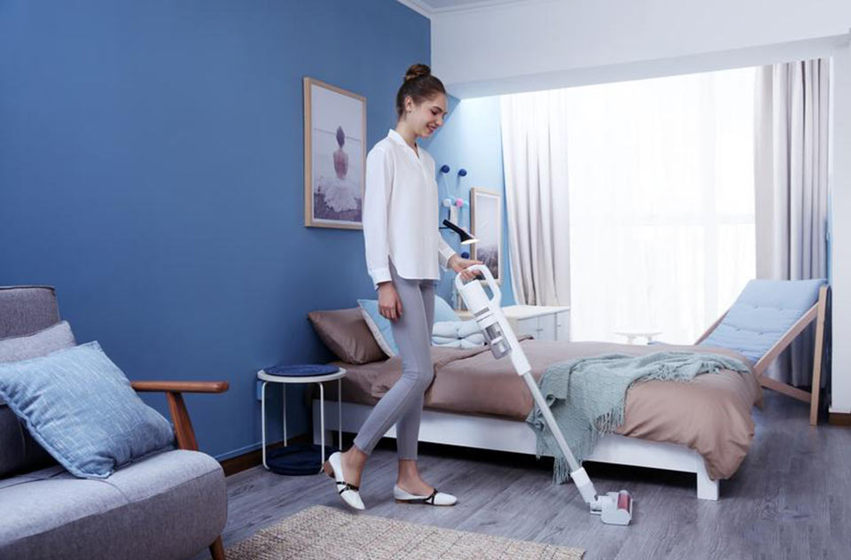 Roidmi F8E Handheld Vacuum Cleaner эргономичный