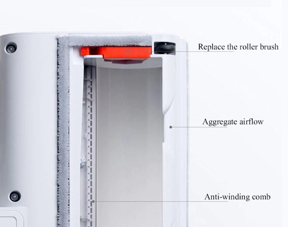 Roidmi F8E Handheld Vacuum Cleaner внутренняя структура
