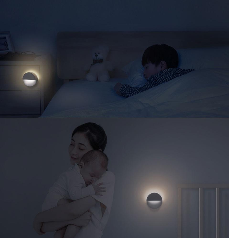 Ночная лампа Mijia Philips Bluetooth Night Light White в детской