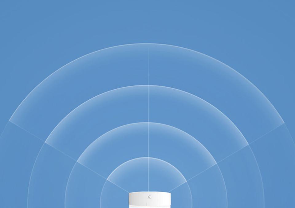 Ночная лампа Mijia Philips Bluetooth Night Light White диапазон покрытия