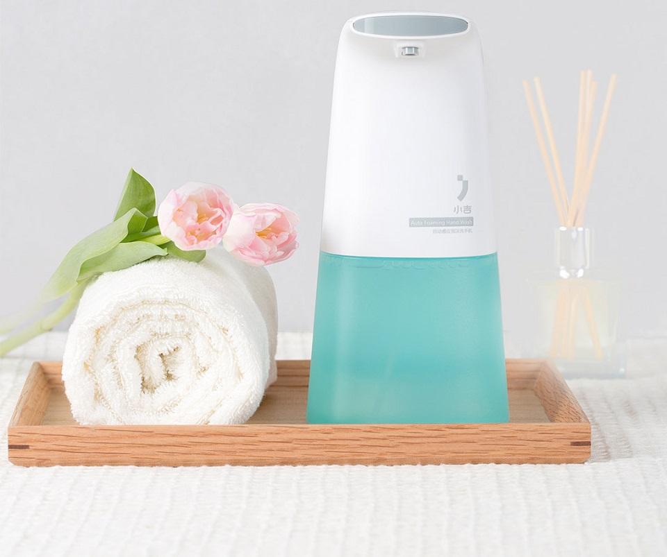 Бесконтактный диспенсер для мыла XiaoJi Auto Foaming Hand Wash White мыло