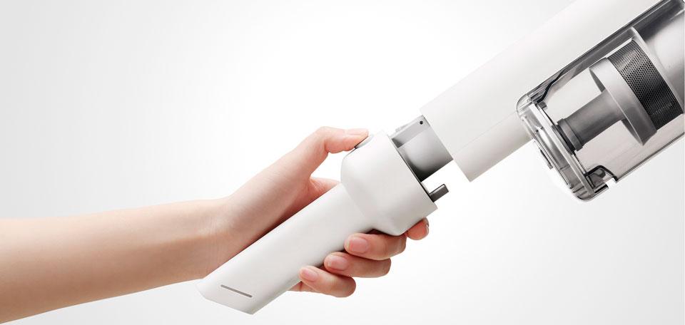 Roidmi F8 Handheld Wireless Vacuum Cleaner удобное управление