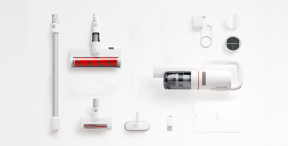 Roidmi F8 Handheld Wireless Vacuum Cleaner комплектация