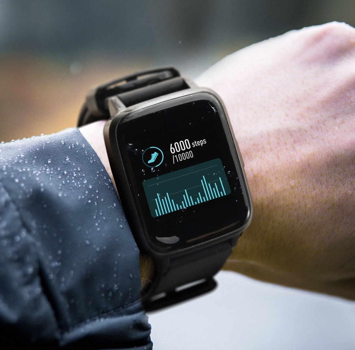 Умные часы HAYLOU Smart Watch (черный) (LS01)