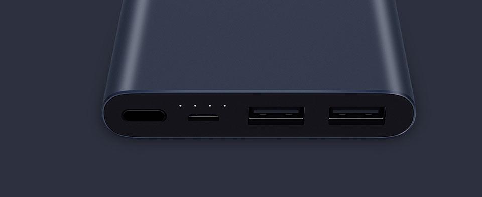 Mi Powerbank 2  индикаторы заряда