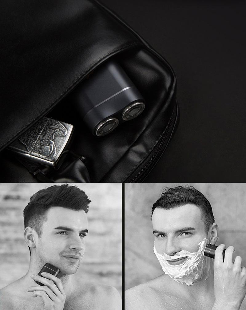 Электробритва Handx Portable Electric Shaver Black YTS100 металлическая конструкция