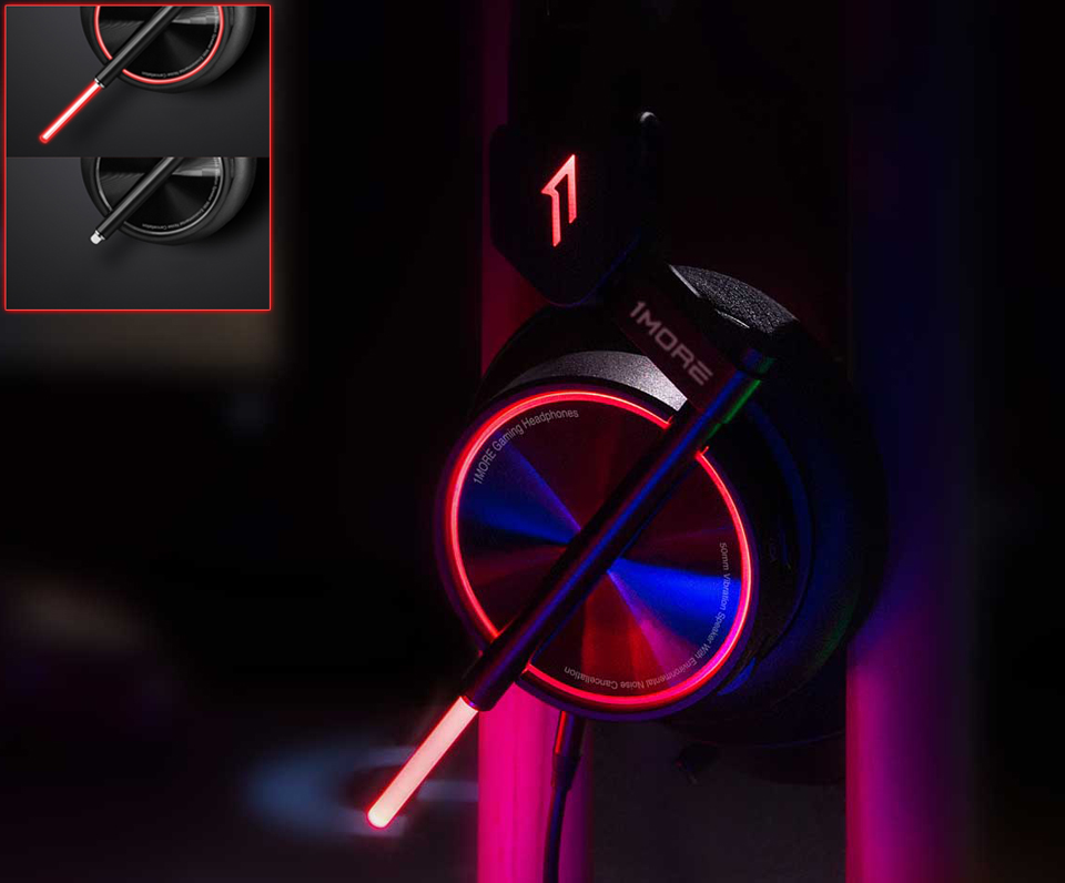 Наушники 1MORE Gaming VR подсветка