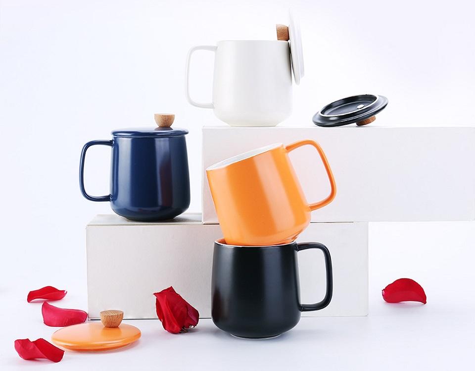Кружка 500CC Enamel Mug Four Seasons набор разного цвета