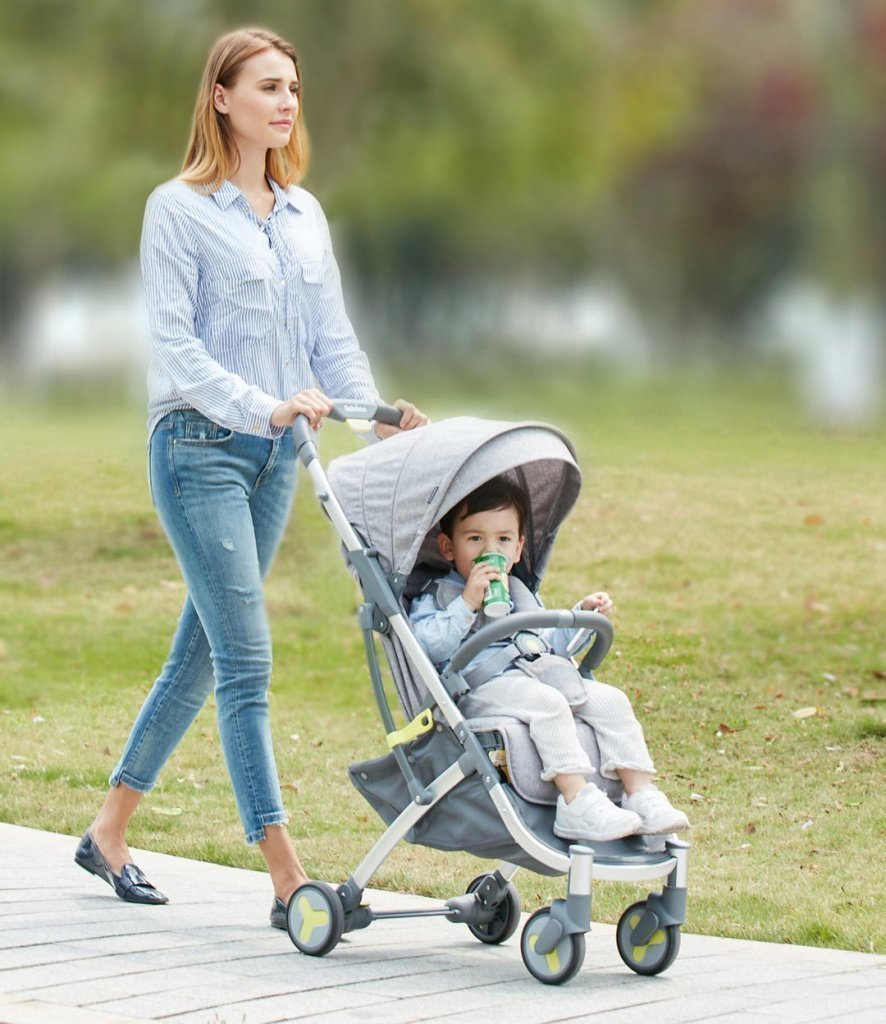 Xiaomi BEBEHOO START Lightweight Four-wheeled Stroller