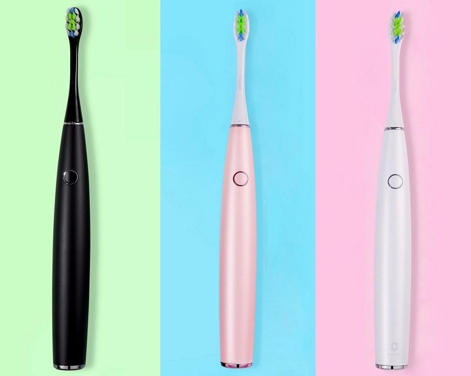 Электрическая зубная щетка Oclean One в разных расцветках