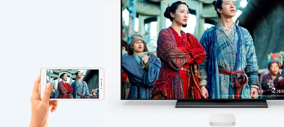 Xiaomi Mi box 4 2/8 Gb изображение со смартфона