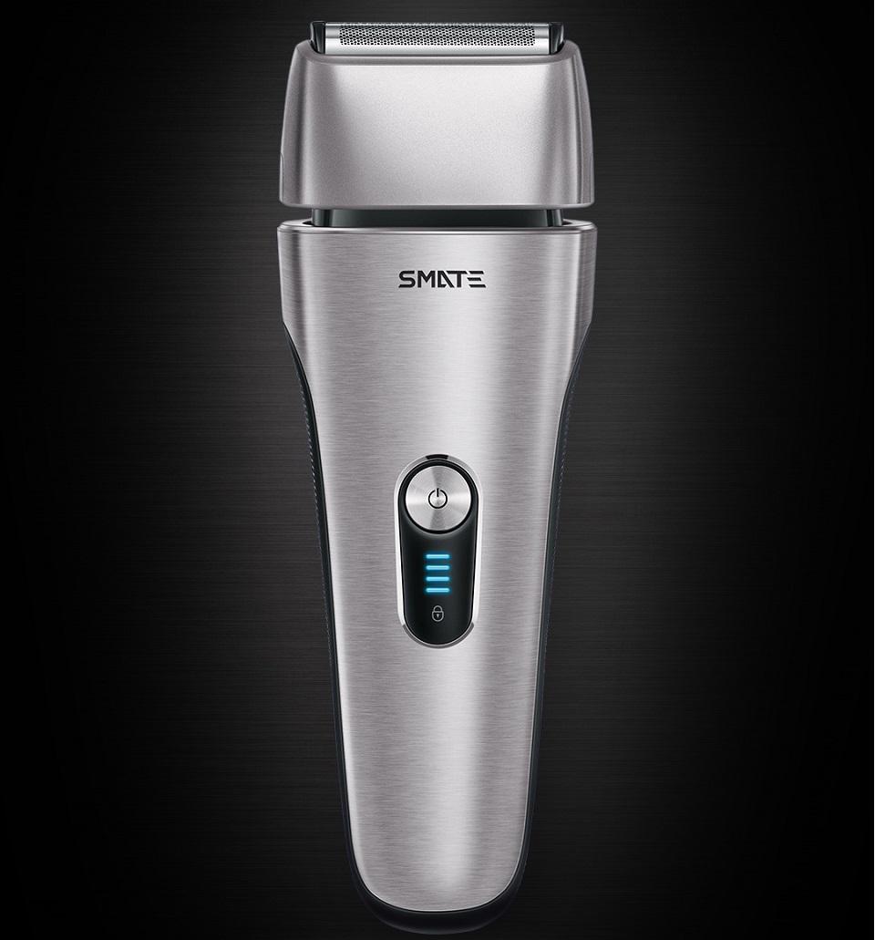 Электробритва SMATE Four-blade shaver Black ST-W481 крупным планом