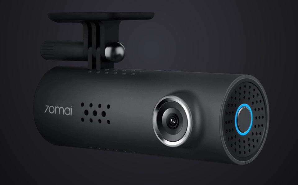 Видеорегистратор 70Mai Smart Dash Cam устройство крупным планом