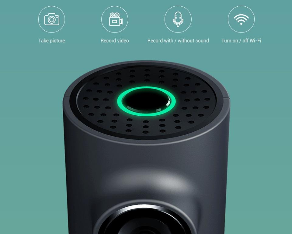 Видеорегистратор 70Mai Smart Dash Cam функции голосового управления