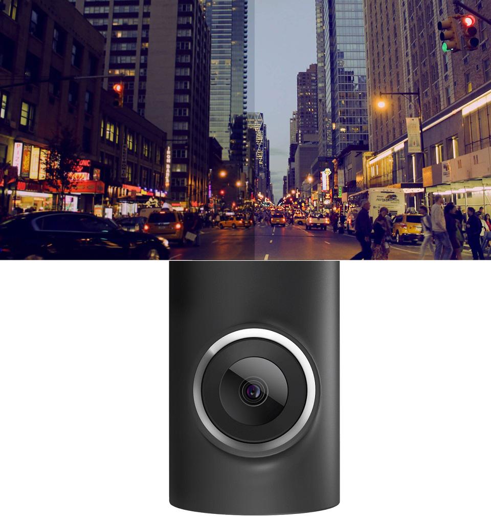 Видеорегистратор 70Mai Smart Dash Cam съемка в ночное время