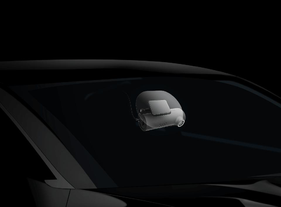 Видеорегистратор 70Mai Smart Dash Cam крепление на стекле