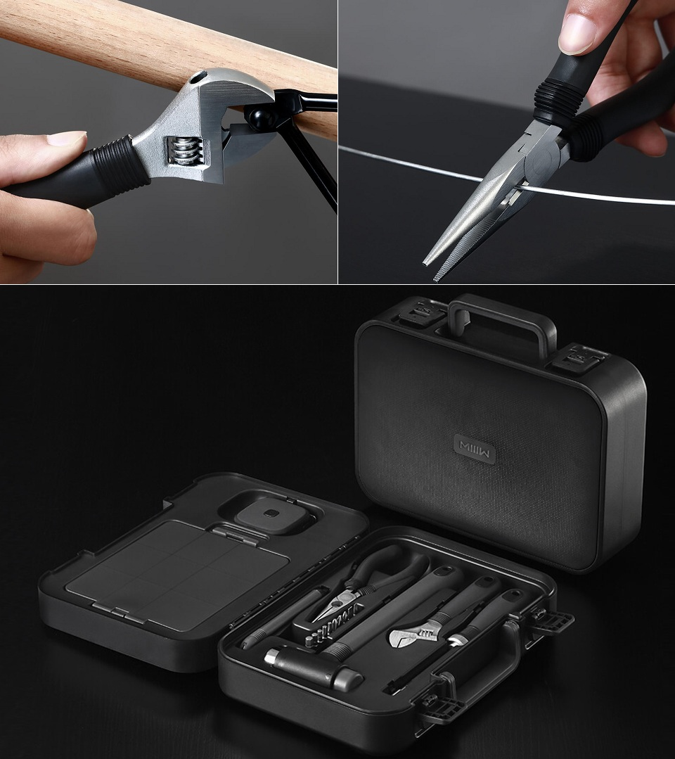 Набор инструментов MiiiW Toolbox плоскогубцы