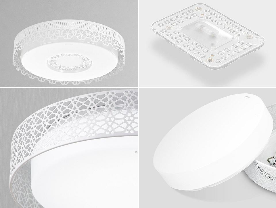 Потолочная лампа OPPLE Led Light Bedroom Lamp в разных ракурсах