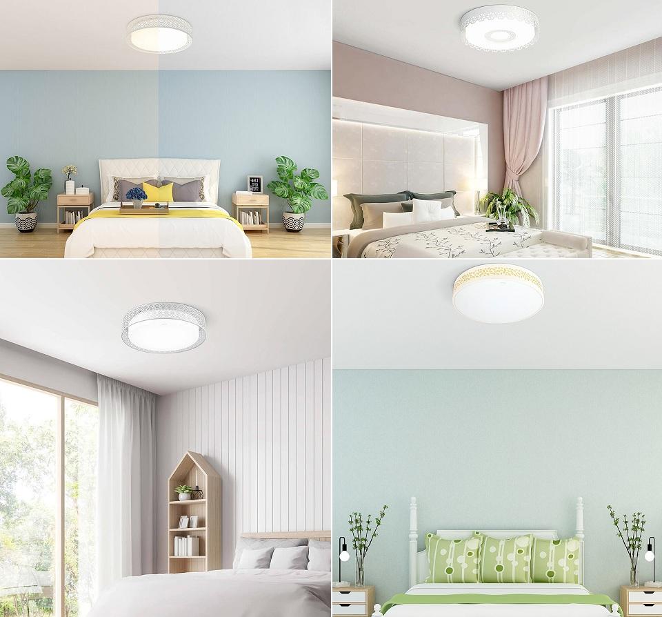 Потолочная лампа OPPLE Led Light Bedroom Lamp разные интерьеры
