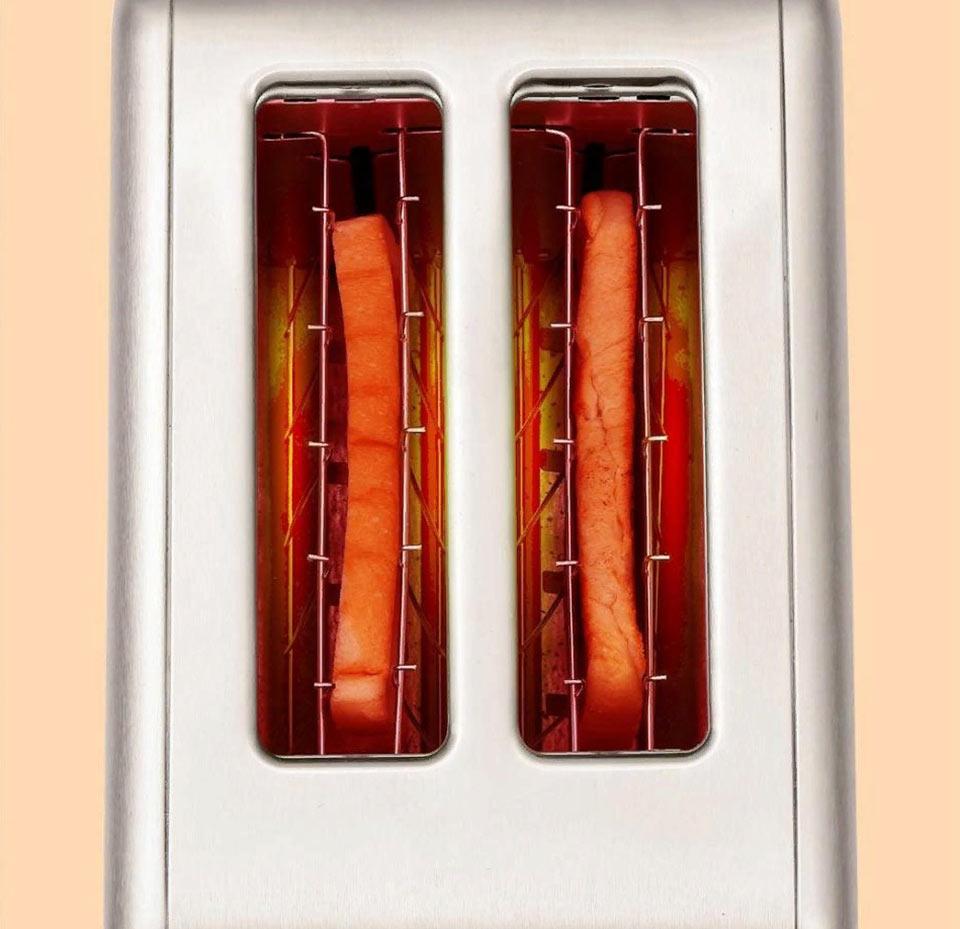 DEERMA DEM-SL281 широкие пазы для тостов