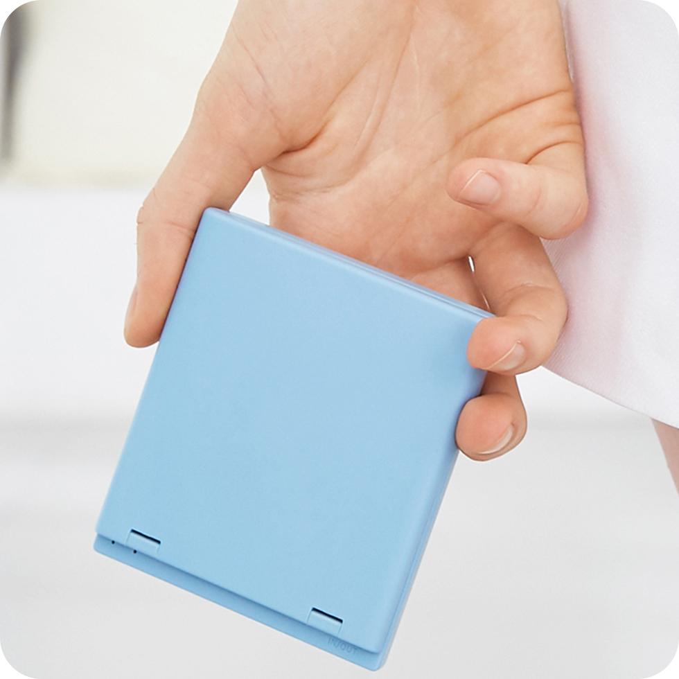 Многофункциональное зеркало VH Portable Beauty Mirror (M01) (голубой)