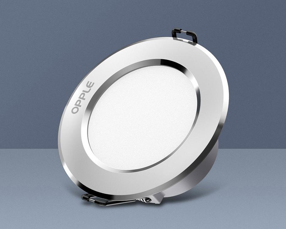 Потолочный светильник OPPLE 3W LED Downlight крупным план