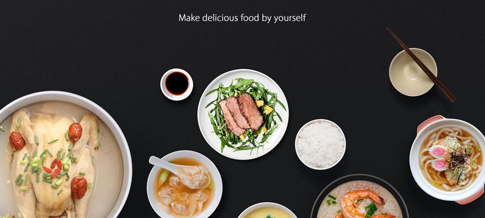 Умная мультиварка Xiaomi MiJia Induction Heating rice cooker 2 вкусные блюда