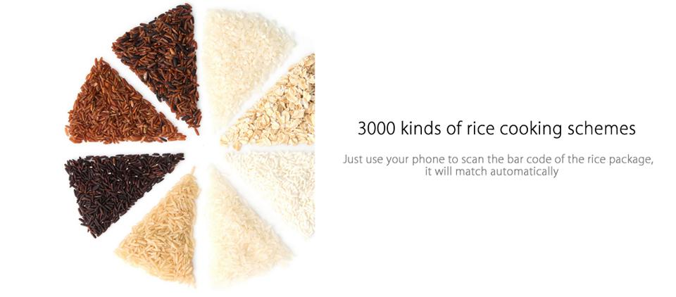 Умная мультиварка Xiaomi MiJia Induction Heating rice cooker 2  режимы готовки риса