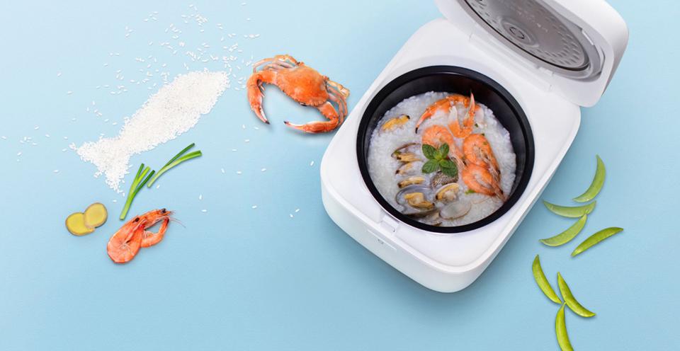 Умная мультиварка Xiaomi MiJia Induction Heating rice cooker 2 стенки чаши