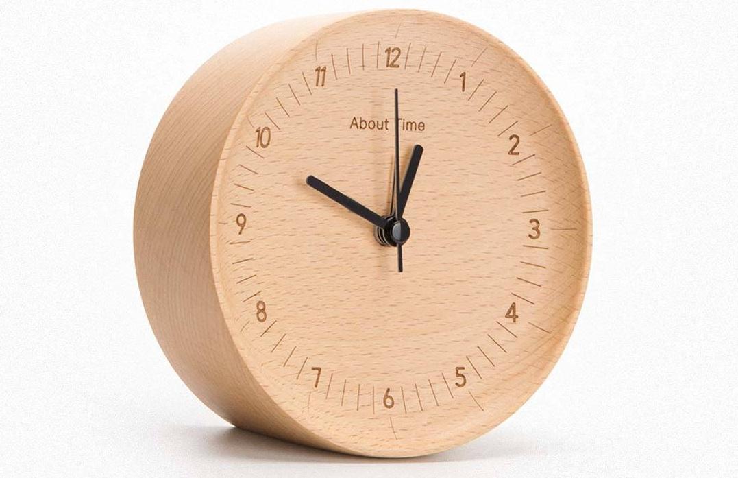 Beladesign About Time  деревянные часы