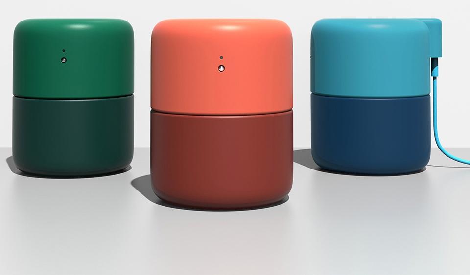 Портативный увлажнитель VH H01 в трех расцветках