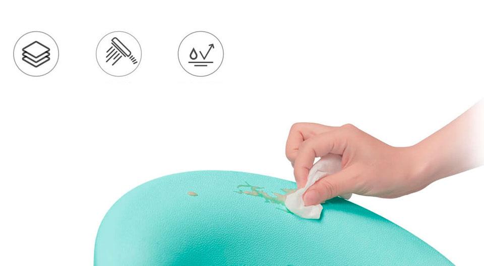 QBORN multipurpose baby chair легко чиститься
