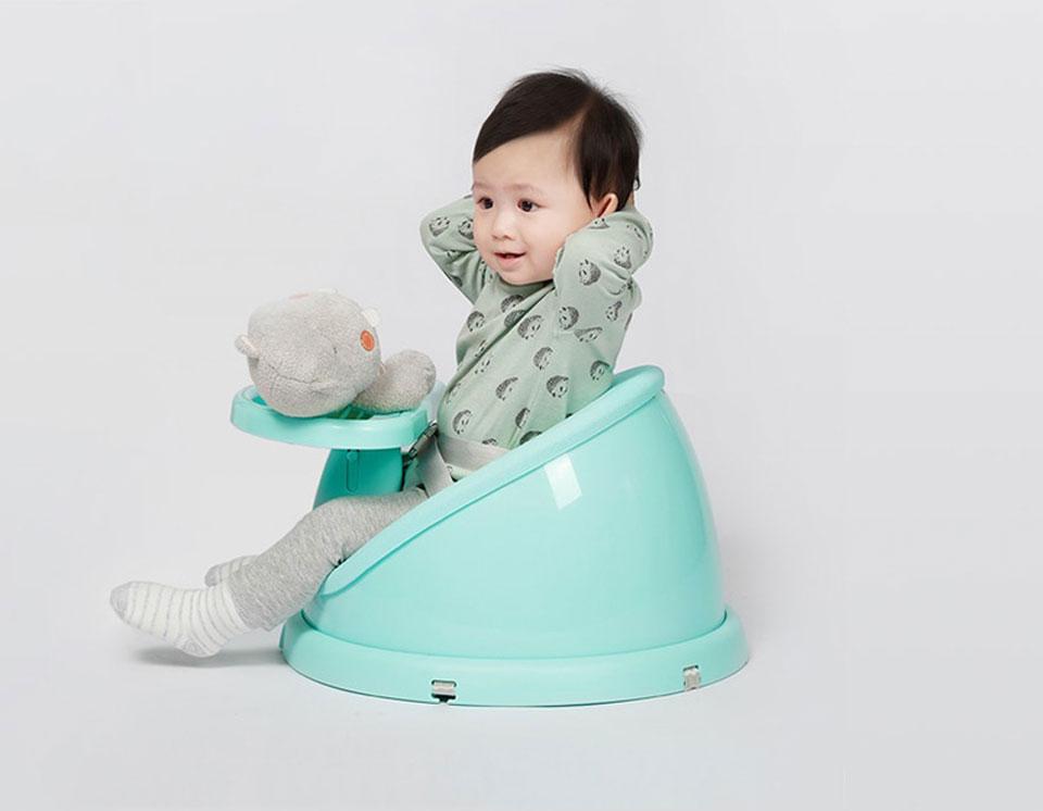 QBORN multipurpose baby chair правильная осанка