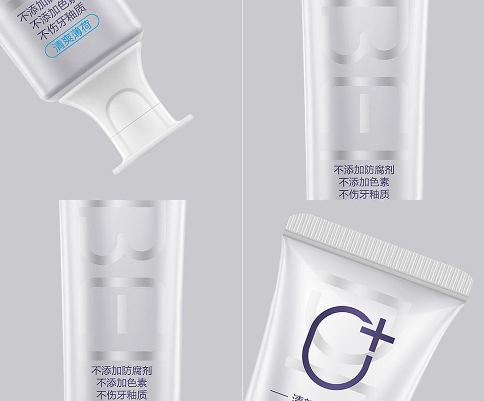 Зубная паста Doctor B Toothpaste тюбик в разных ракурсах