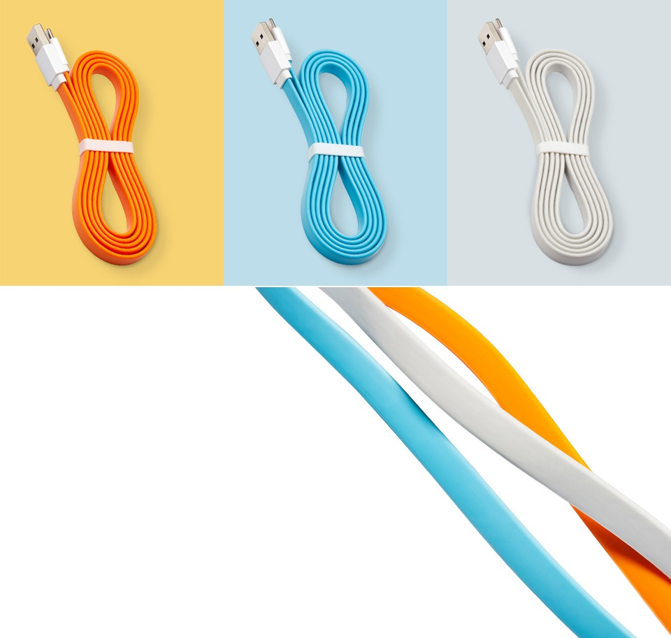 Кабель Mi Colorful Portable USB - Type-C 120CM Grey длина