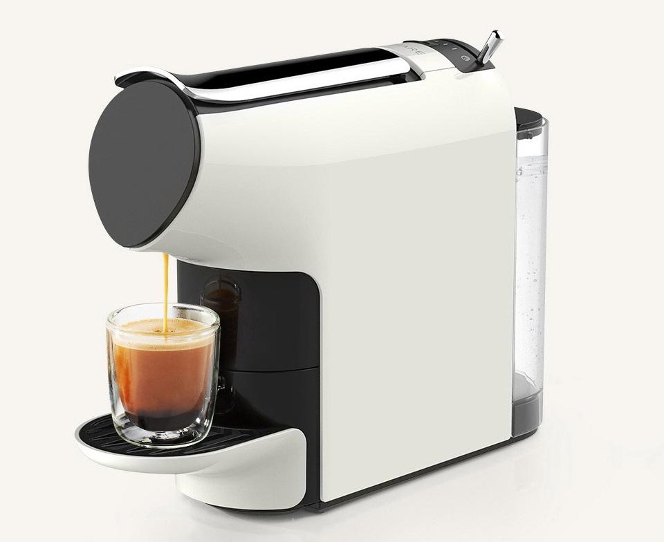 Кофемашина Scishare Coffee Machine крупным планом