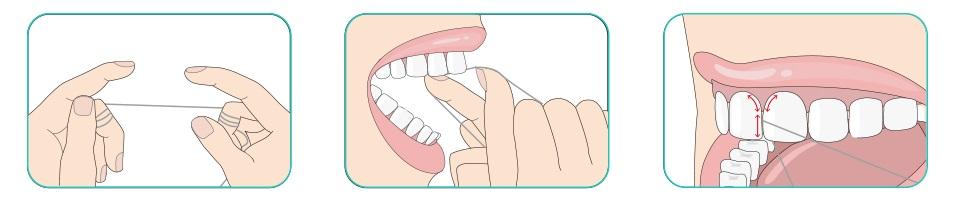 Зубная нить DOCTOR B (3шт. по 50 м) инструкция по применению
