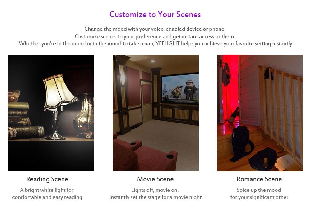 Yeelight LED Smart Colorful Wi-Fi Bulb  цветная умная лампочка