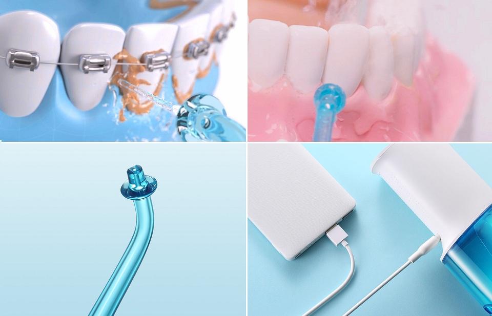 Ирригатор для ротовой полости SOOCAS W3 зубы