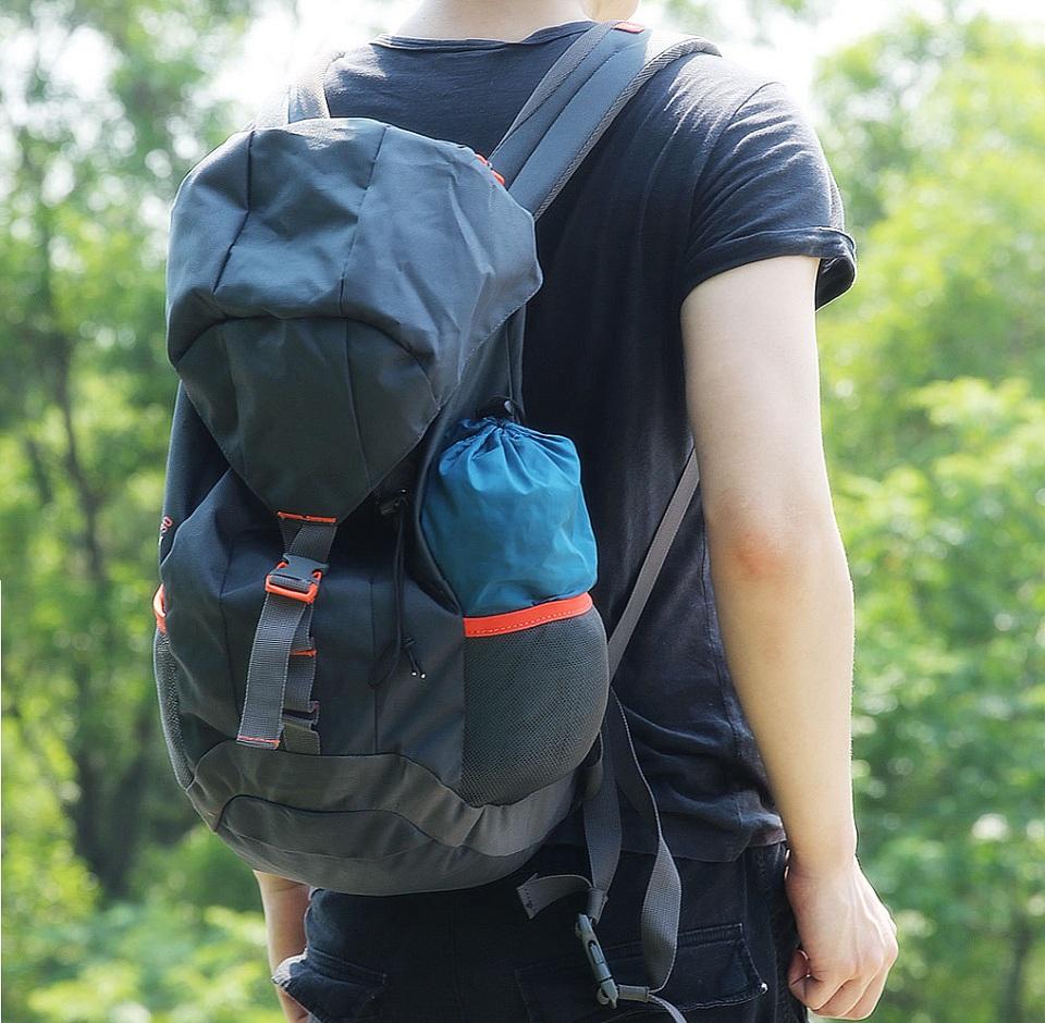 Гамак Early Wind Outdoor Parachute Cloth Hammock в рюкзаке