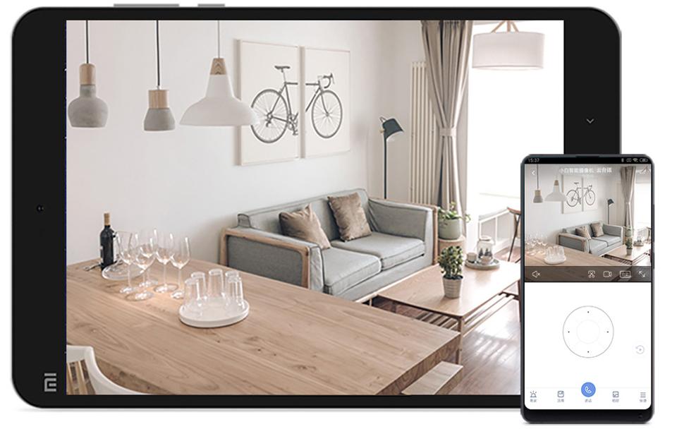 IP Камера iMi Xiaobai Smart Camera PTZ Edition CMSXJ16A в квартире